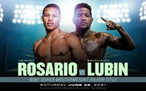 Jeison Rosario faces Erickson Lubin in Atlanta, USA this Saturday   Boxen247.com (Kristian von Sponneck)