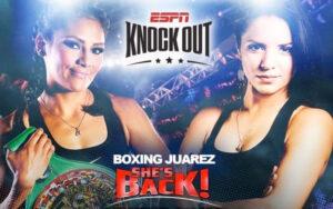 Lourdes Juárez grants rematch to Diana Fernández, set for July 16   Boxen247.com (Kristian von Sponneck)