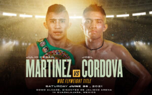 Martínez & Córdova go head-to-head this Saturday on DAZN | Boxen247.com (Kristian von Sponneck)