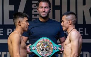 Julio César Martínez & Joel Córdova make weight ahead of tomorrow   Boxen247.com (Kristian von Sponneck)