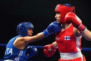 Cruveillier, Shamonova & Shishmareva defended their titles @ EUBC U22 | Boxen247.com (Kristian von Sponneck)