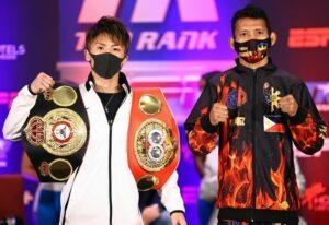 Naoya Inoue vs. Michael Dasmarinas had their press conference in LA | Boxen247.com