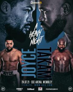 Joe Joyce vs. Carlos Takam July 24 undercard announced | Boxen247.com (Kristian von Sponneck)