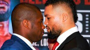 """I Think I'll Beat Him"" - Dubois Keen on Joyce Rematch   Boxen247.com"