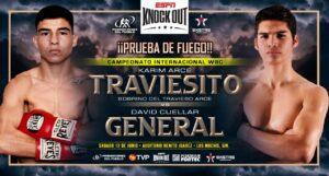 Karim Arce vs. David Cuellar For Vacant WBC Silver Youth Title June 12 | Boxen247.com