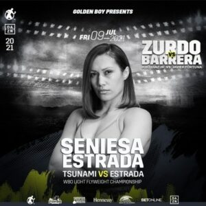 Seniesa Estrada vs. Tenkai Tsunami For WBO Flyweight Title July 9 | Boxen247.com