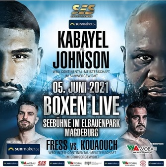 Agit Kabayel vs. Kevin Johnson Fight Card Weights From Germany | Boxen247.com