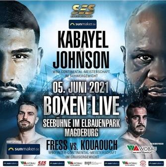 "Agit Kabayel Defeats Kevin ""Kingpin"" Johnson in Germany | Boxen247.com"