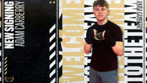 MTK Global Signs Adam Carberry | Boxen247.com