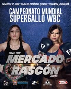 Yamileth Mercado Faces Angelica Rascón on June 26 | Boxen247.com