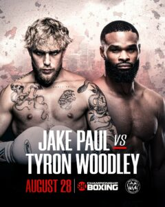 Jake Paul vs. Tyron Woodley Kick-Off Press Conference | Boxen247.com