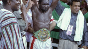On This Day: Azumah Nelson Defeated Jesse James Leija | Boxen247.com