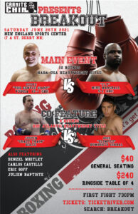 Huge Day & Night Event by Granite Chin - Steve Vukosa vs. Mike Marshall | Boxen247.com