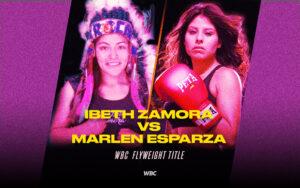 Ibeth Zamora defends WBC title against Marlen Esparza June 19   Boxen247.com