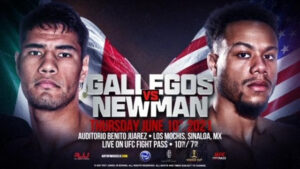 Gallegos vs. Newman RJJ Boxing full fight card weights from Mexico | Boxen247.com