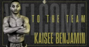 Kaisee Benjaminsigns with Hennessy Sports   Boxen247.com