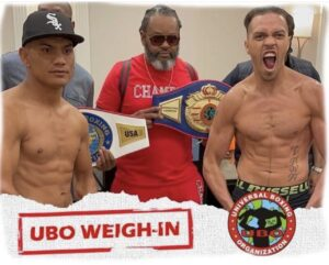 Noel Echevarria vs. Rafael Reyes Weights From Jonesboro, USA   Boxen247.com