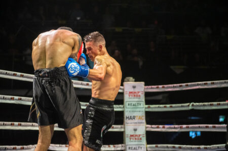 """Jackson England: """"Felt good to jump back in there"""" - wins two titles   Boxen247.com"""