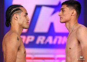 Eric Puente & Omar Rosario weigh-in ahead of tonight in Las Vegas | Boxen247.com