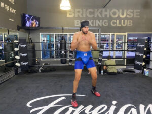 Gilberto Ramirez at new state-of-the-art gym in heart of North Hollywood | Boxen247.com