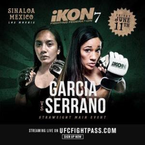 Amanda Serrano defeats Valentina Garcia in MMA bout - full results   Boxen247.com