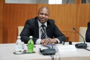 Roy Jones Jr. - Ambassador of AIBA Men's World Boxing Championships | Boxien247.com (Kristian von Sponneck)