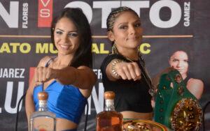 Lulu and Bonita ready to shine on Friday | Boxen247.com (Kristian von Sponneck)