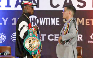 All or nothing! Charlo and Castaño face to face   Boxen247.com (Kristian von Sponneck)