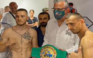 Piergiulio Ruhe & Sladan Janjanin make weight in Turkey | Boxen247.com (Kristian von Sponneck)