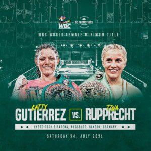 Tina Rupprecht faces Katty Gutiérrez for WBC title in Germany July 24   Boxen247.com (Kristian von Sponneck)