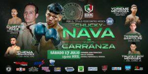 Nava vs. Carranza for the WBA Fedecentro Flyweight title today   Boxen247.com (Kristian von Sponneck)