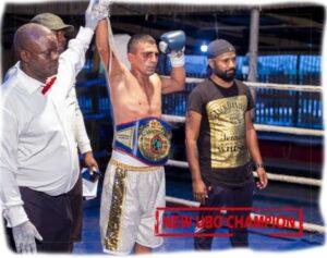 Sandeep Kumar defeats Chiddy Mbishi for UBO International title   Boxen247.com (Kristian von Sponneck)