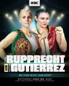 Tina Rupprecht vs. Katia Gutiérrez - where to watch? | Boxen247.com (Kristian von Sponneck)