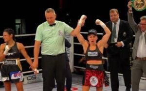 Tina Rupprecht retains world title against Katia Gutiérrez in Germany | Boxen247.com (Kristian von Sponneck)