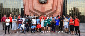 AIBA welcomes 10 national boxing teams to training camp in Khabarovsk | Boxen247.com (Kristian von Sponneck)