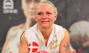 Dina Thorslund targets Shannon Courtenay unification   Boxen247.com (Kristian von Sponneck)