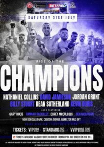 Nathaniel Collins faces Felix Williams for Commonwealth title this Saturday   Boxen247.com (Kristian von Sponneck)