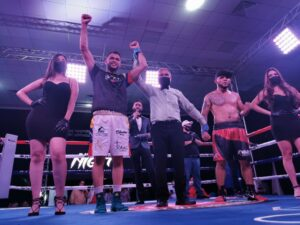 "Endry Saavedra defeats Edgar Leonardo Romero in ""Rumble Night""   Boxen247.com (Kristian von Sponneck)"