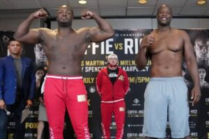 Michael Coffie vs. Jonathan Rice fight card weights from New Jersey | Boxen247.com (Kristian von Sponneck)