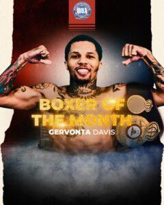 Gervonta is the WBA Boxer of the Month & Inoue gets honorable mention   Boxen247.com (Kristian von Sponneck)