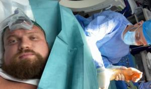 Eddie Hall discusses bicep injury and surgery | Boxen247.com (Kristian von Sponneck)