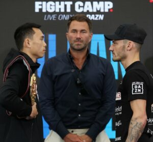 Can Xu vs. Leigh Wood now headlines Fight Camp this Saturday   Boxen247.com (Kristian von Sponneck)