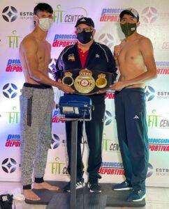 Juan Marcos Rodriguez & Erik Leon weigh-in ahead of tonight in Mexico   Boxen247.com (Kristian von Sponneck)