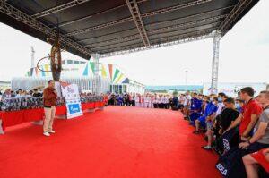 AIBA President's traditional meeting with athletes at the Junior EUBC | Boxen247.com (Kristian von Sponneck)