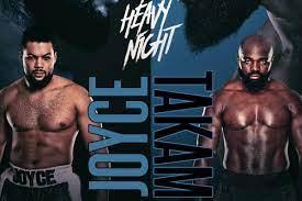 Head to head: Takam say's he'll KO Joyce then settle score with Joshua | Boxen247.com (Kristian von Sponneck)