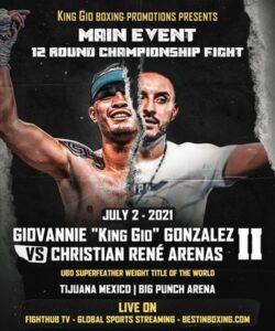 Giovannie Gonzalez & Christian Arenas make weight in Tijuana, Mexico | Boxen247.com (Kristian von Sponneck)
