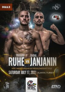 Piergiulio Ruhe faces Sladan Janjanin in Alanya, Turkey July 17 | Boxen247.com (Kristian von Sponneck)