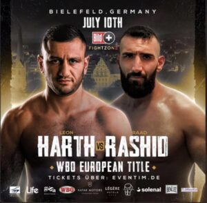 Leon Harth defeats Rad Rashid & full fight card results from Germany