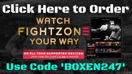 Order Fightzone TV - Boxen247.com