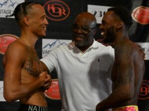 Nahir Albright vs. Jeremy Hill full fight card weights from Philadelphia | Boxen247.com (Kristian von Sponneck)